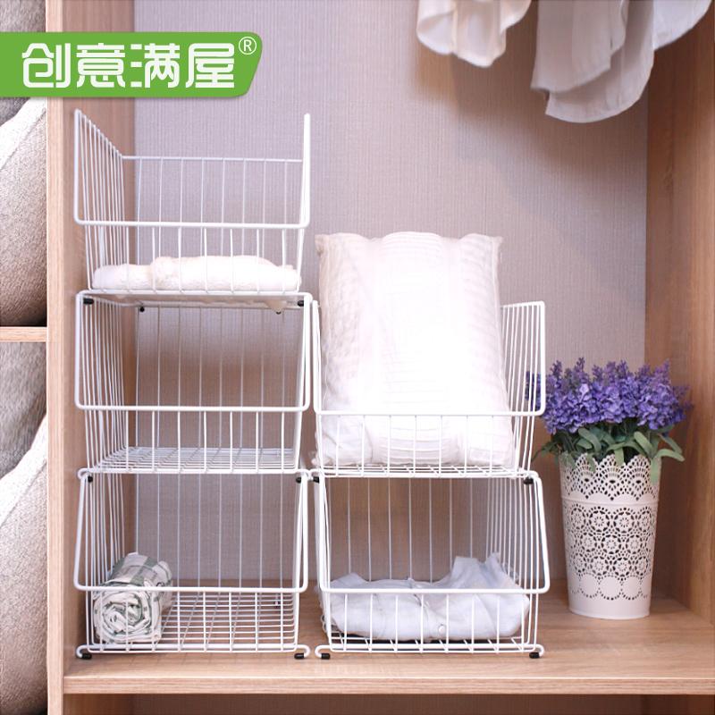 衣柜收纳储物架