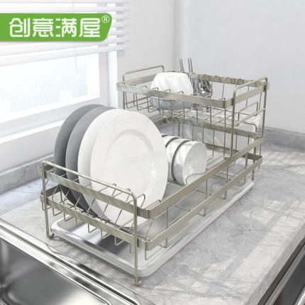 碗碟沥水架碗筷滤水篮