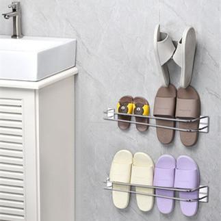 浴室拖鞋架墙壁挂