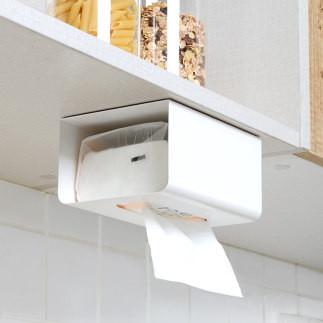 免打孔厨房用纸收纳盒