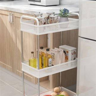 厨房夹缝置物架
