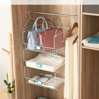 卧室衣柜分类整理架