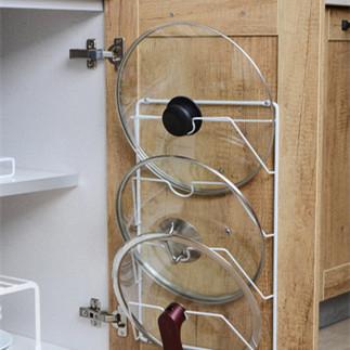 锅盖架壁挂厨房置物架