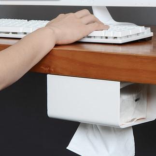 免打孔纸巾盒