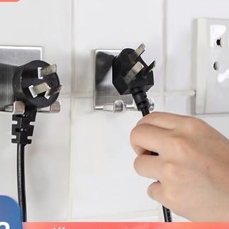 电源插头挂钩