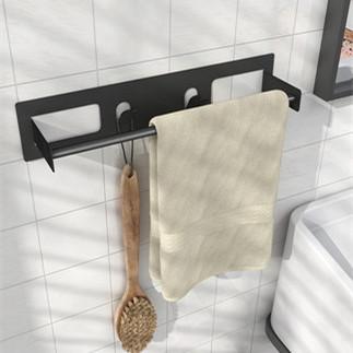 单杆挂洗脸毛巾架