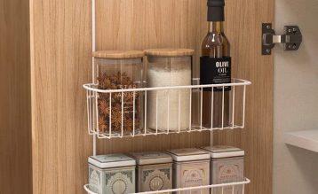 小厨房的大收纳,这款厨房收纳篮就是小厨房救星