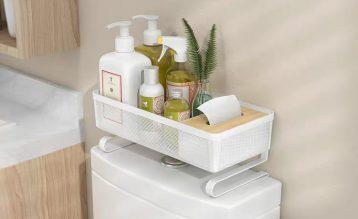 家居达人教你巧用闲置空间做收纳,轻松摆脱杂乱浴室