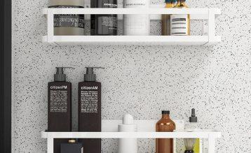 浴室收纳新时尚,超高颜值收纳神器了解一下