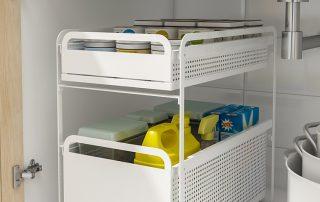 收纳重灾区的厨房如何做好规划?这款收纳架帮你搞定!